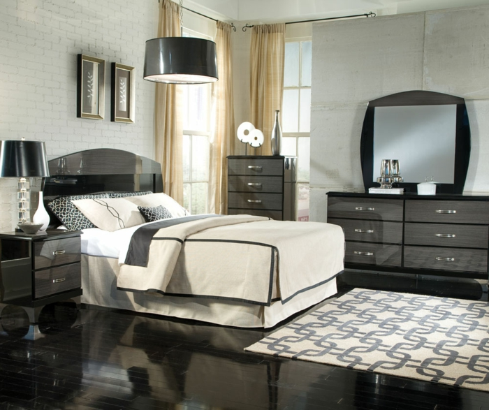 bedroom decorate pictures male look