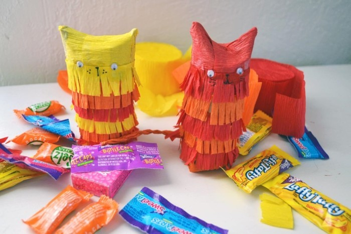 diy ideas deco ideas tinker with kids owls mini pinata