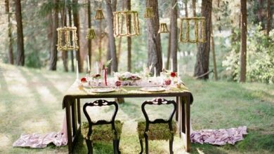 Photo of Wedding Outside: That's what you have to think about when you celebrate in the forest / park!