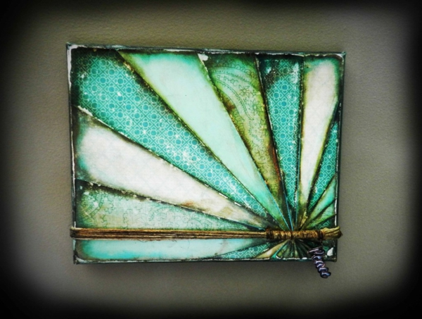 Create canvas pictures yourself diy colors glass