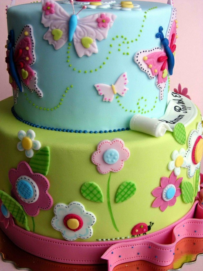 cakes decoration excellent flowers from fondant