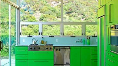 Photo of Color ideas for kitchen – enjoy the freshness of the green shades