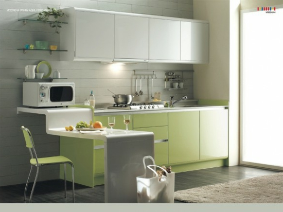 color ideas for kitchen green fresh undercounters