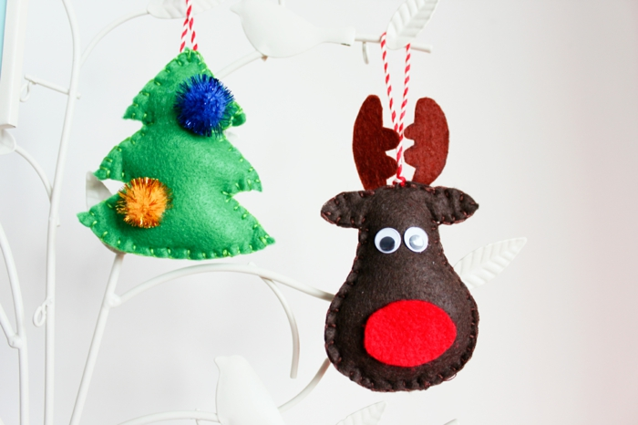 crafting christmas tree tags sew yourself beautiful deco ideas