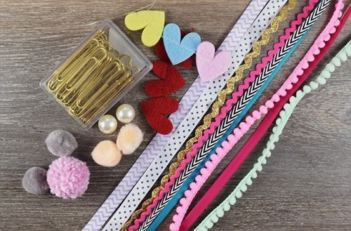 the materials needed are simple craft ideas