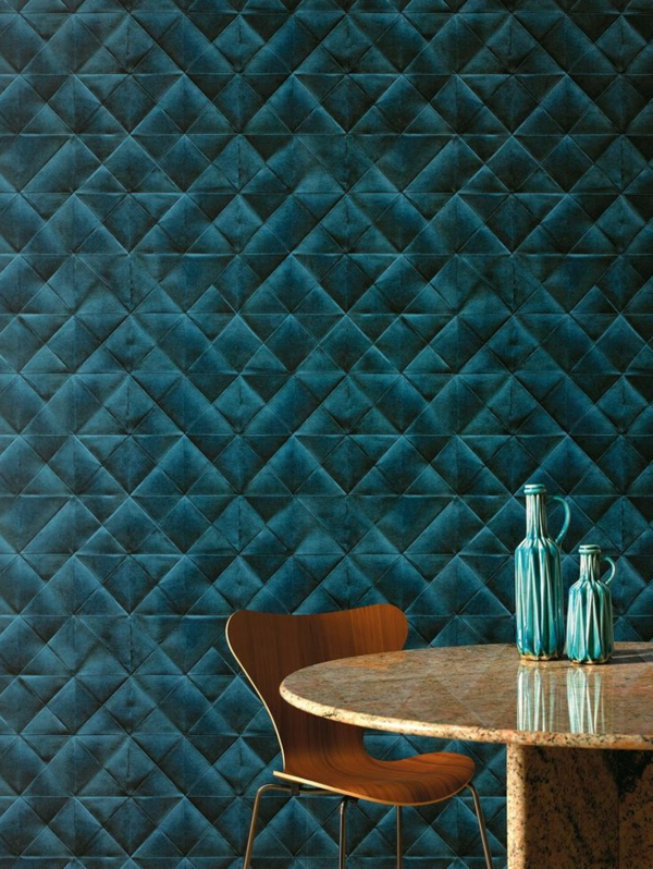 dining room wallpaper beautiful pattern dark green