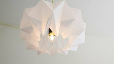 Photo of Original paper lamps give the ambience a summery taste