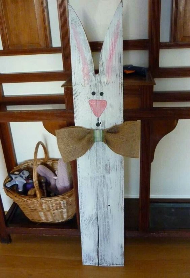 Wooden Easter decoration Deco products Easter decoration Ideas Easter bunny