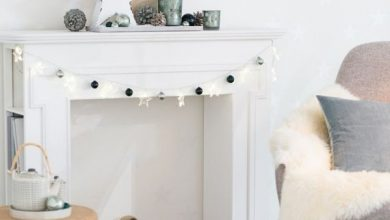 Photo of Decorate fireplace console for Christmas – great options are available