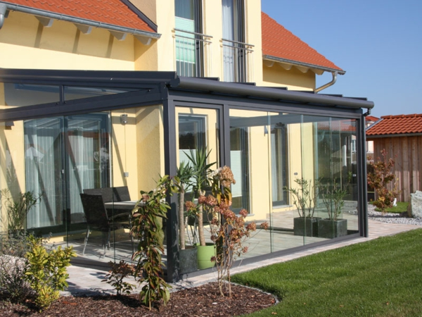 patio roofing glass and sliding doors
