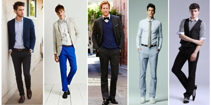 Men's outfits wedding