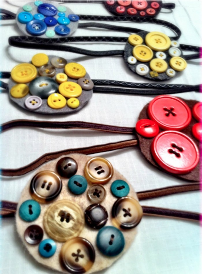 tinker with buttons diy ideas deco ideas necklace