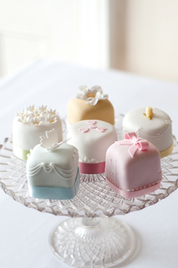 fancy cake mini wedding