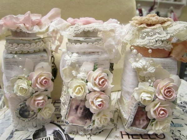 shabby chic deco itself make ideas roses fabric photos