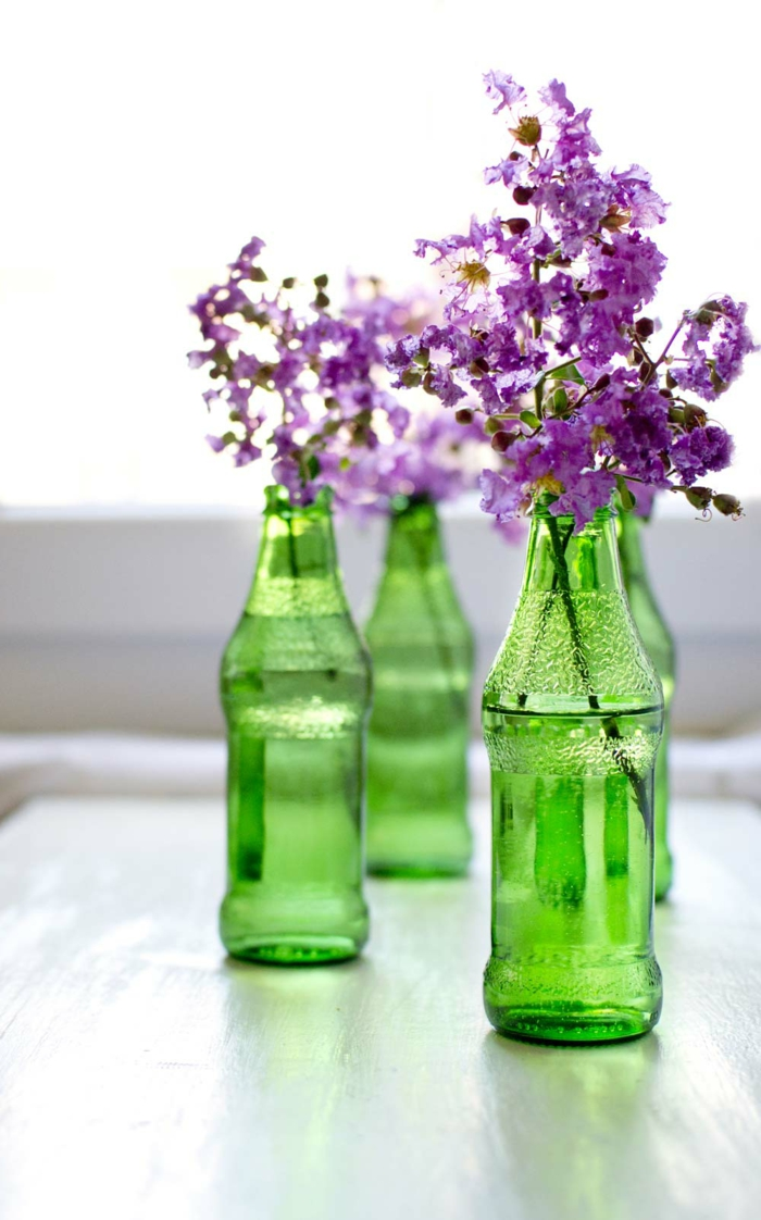 floral decoration fancy vases bottles