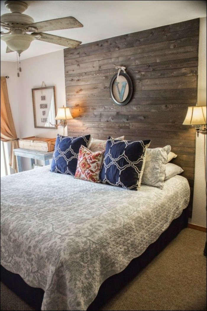 nice combination wooden wall