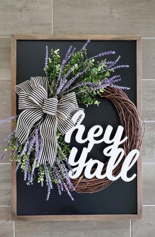 Door wreaths make guests welcome
