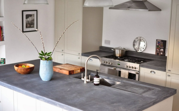 countertop concrete look style functionality