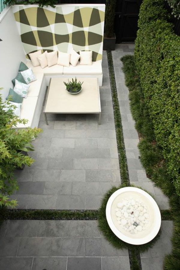 lay terrace natural stone tiles tile frost-proof