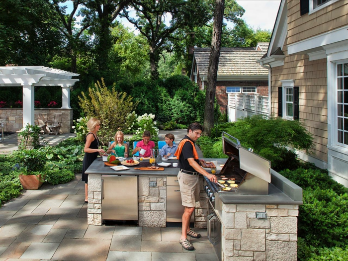 outdoor kitchen garden kitchen outdoor kitchen build yourself