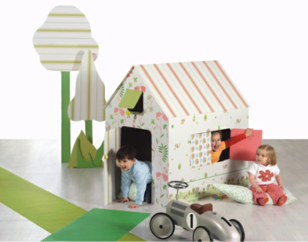 Playhouse Papphaus Ikea