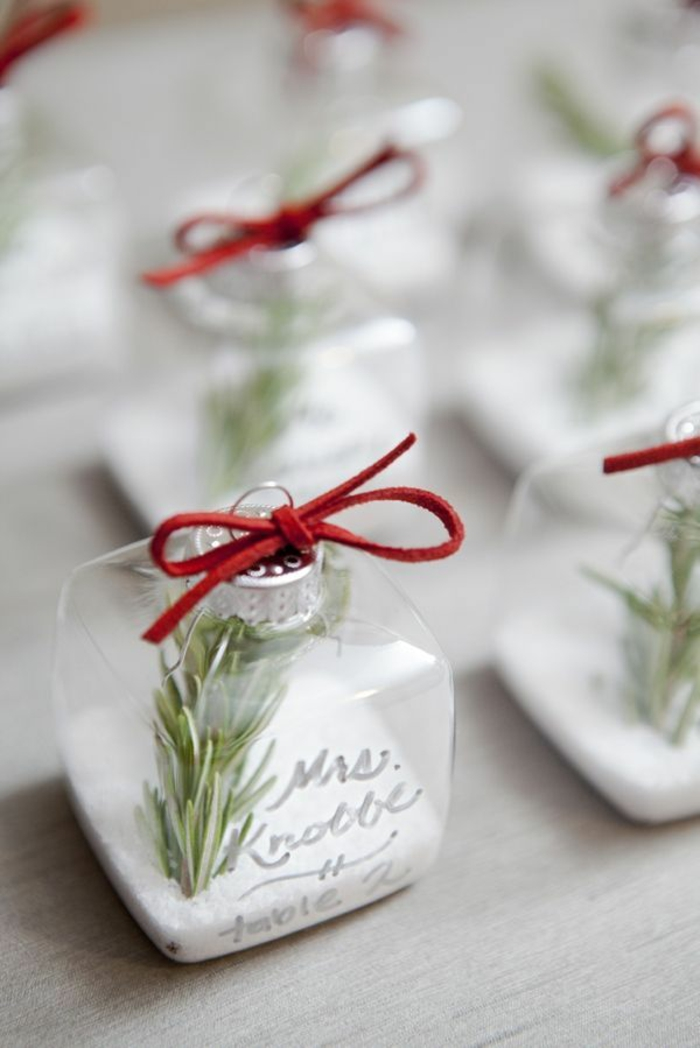 place cards, tinker, christmas, ideas