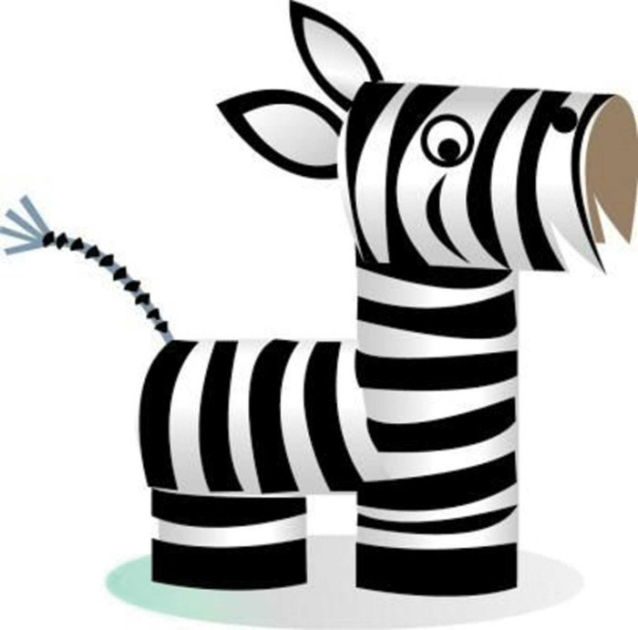 diy ideas decoration ideas tinker with children zebra