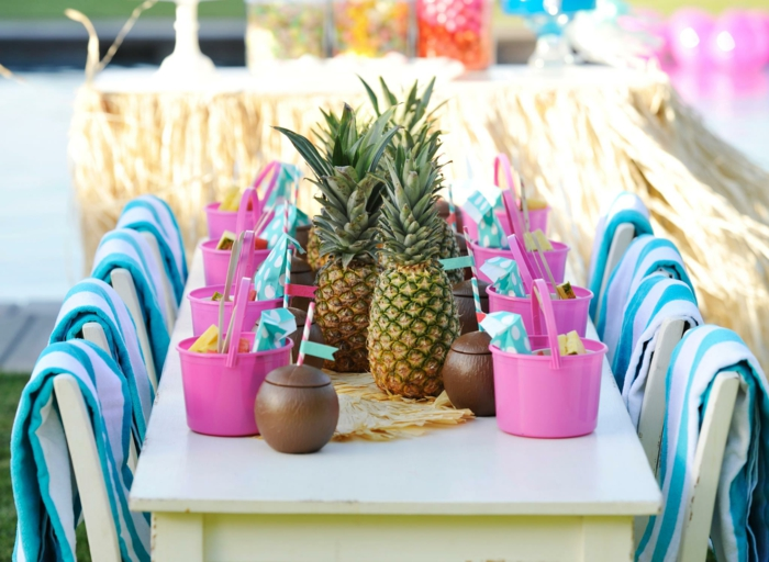 party decoration ideas kids party summery mood