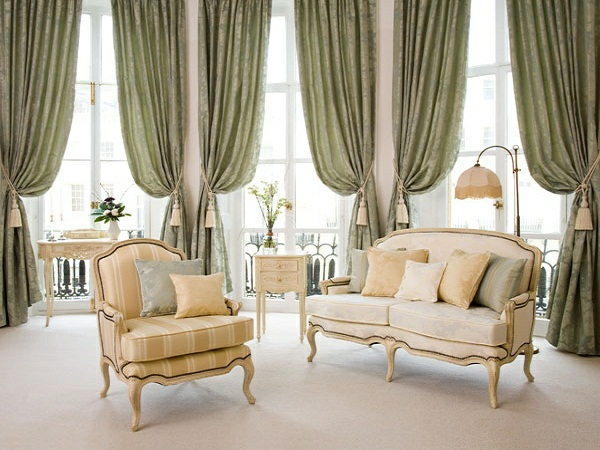 beautiful curtains for noble furnishings