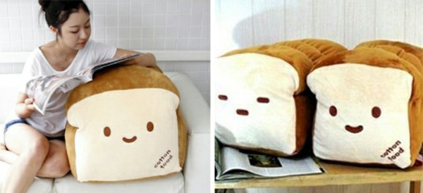 Creative decorative delicious pillow bread