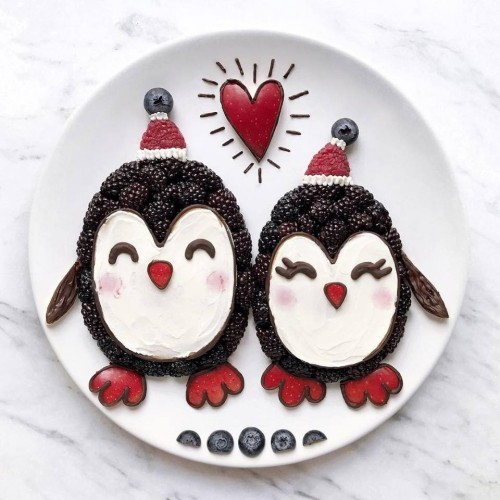 two beautiful penguins craft ideas