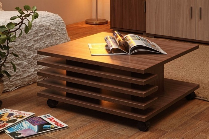 Side table wood side table design