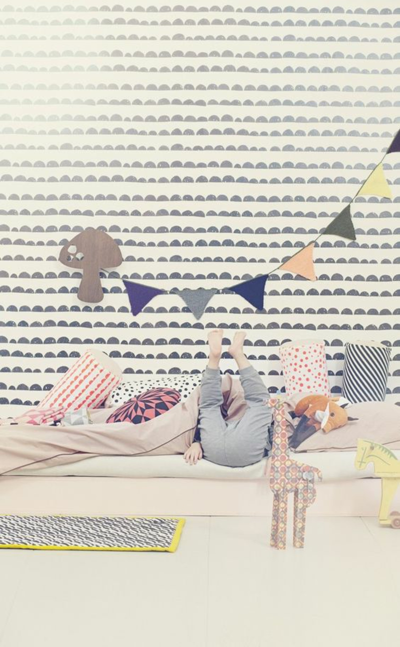 Pattern wallpapers for kids rooms design graphic patterns