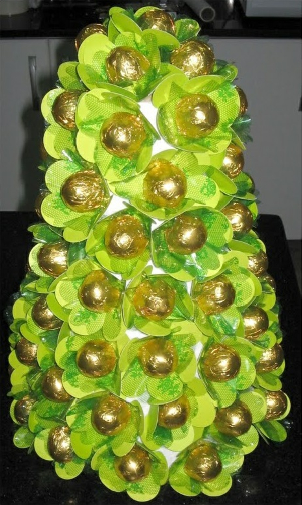 Christmas decoration - tropical style - candy plump tree