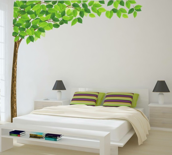 wall decals tree home ideas bedroom wall decor