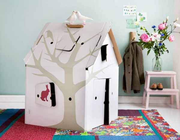 Papphaus ikea play house