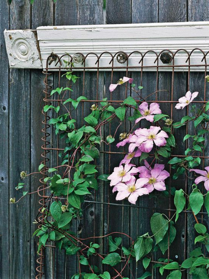 decorate vintage deco trellis garden