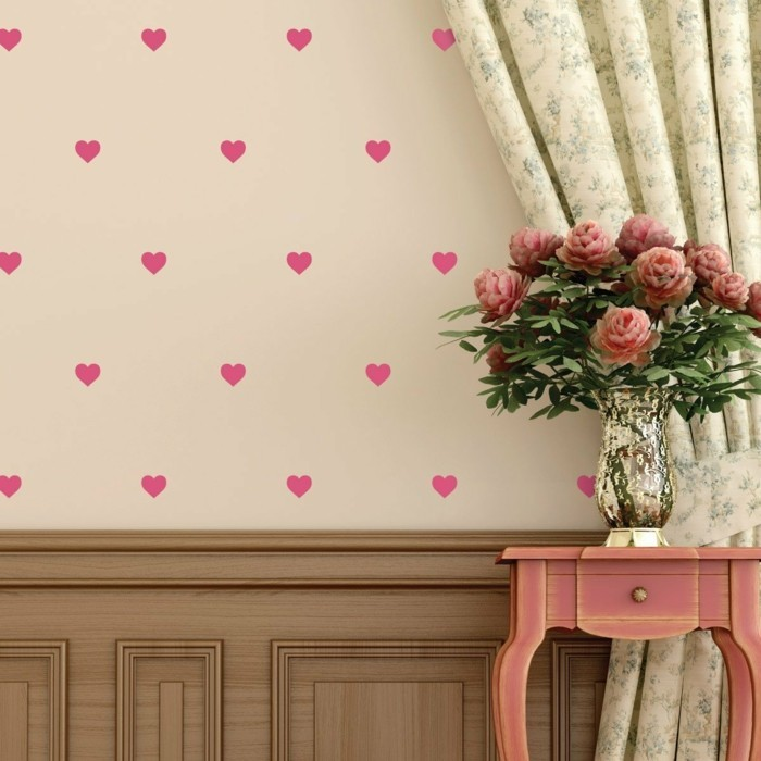 valentines ideas heart charming wall decoration ideas