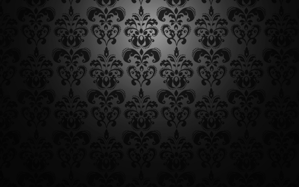 wallpaper pattern dark elegant floral elements
