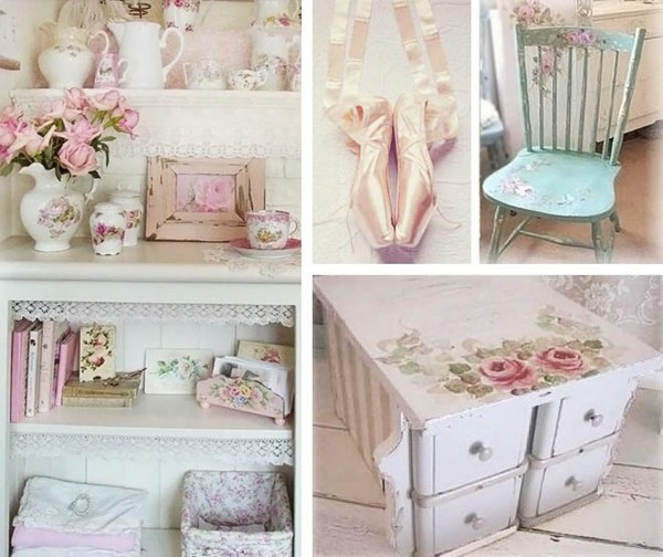 shabby chic decor itself make furniture decorate