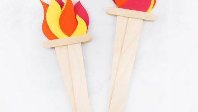 """Photo of Fabulous DIY ideas on """"Olimpic Torch"""""""