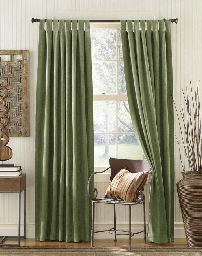 curtains fabrics curtains pastel green velvet home textiles