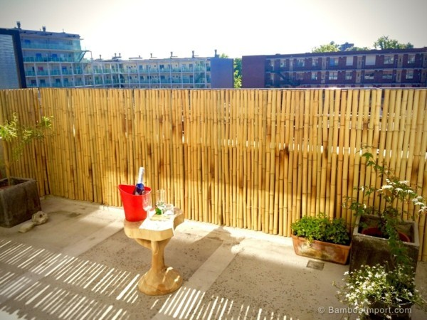 balcony ideas bamboo sticks tips