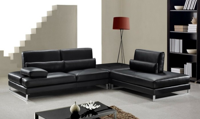 brown leather sofa in scene 12