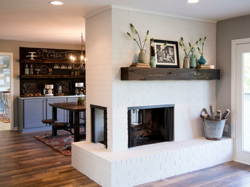 Room Designs Living Room Wall Decoration Fireplace Deco