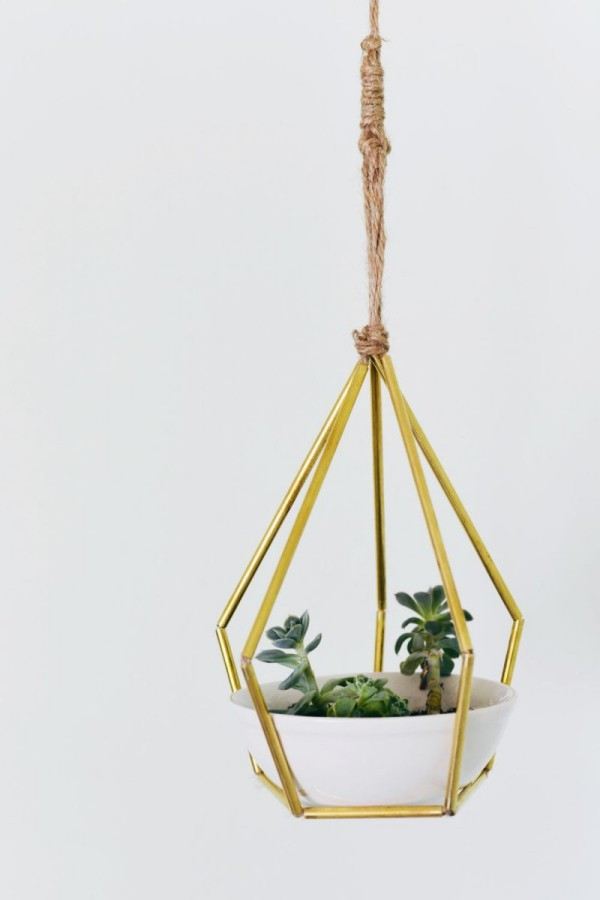 DIY decoration hanging planter