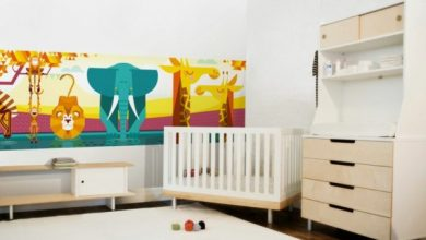 Photo of Kids wallpaper jungle for attractive nursery