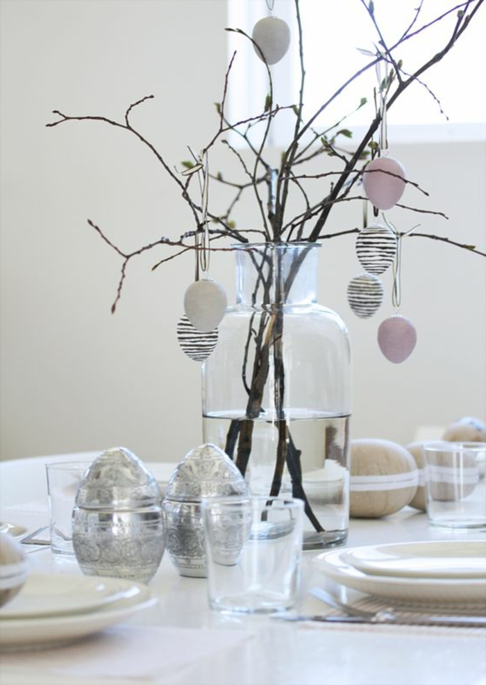 decorating easter branch decorating easter eggs table decoration easter