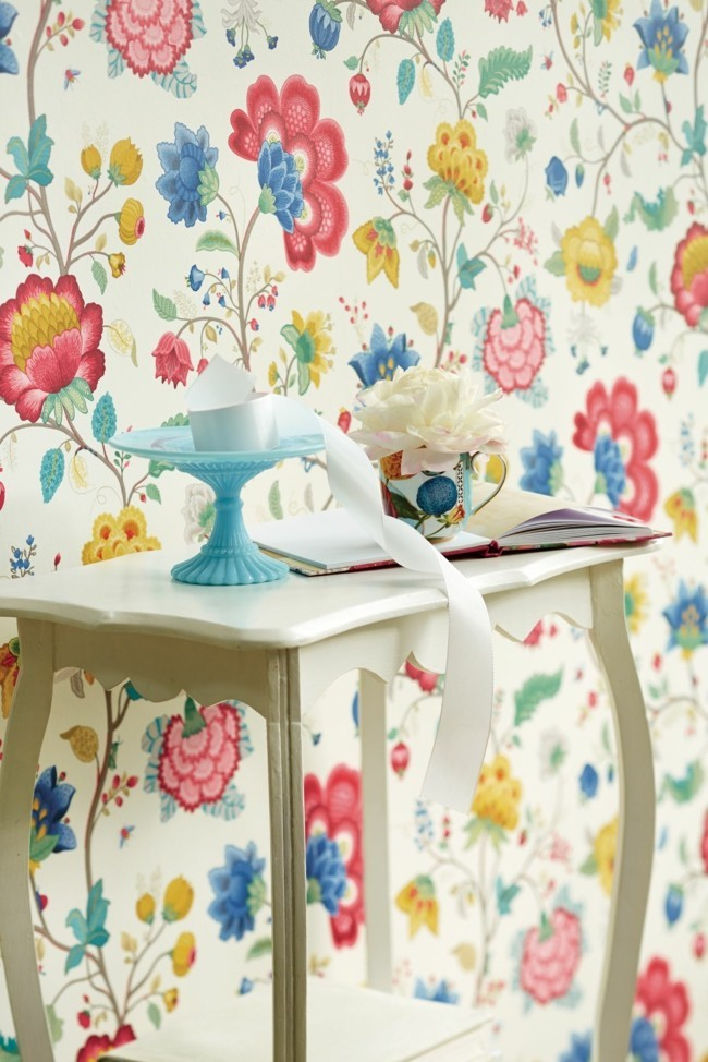 floral wallpaper ideas