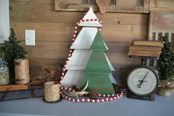 DIY decorative rustic Christmas decoration yourself